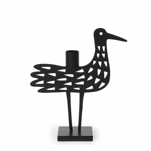 Bengt & Lotta Iron Shorebird Dot Candle Holder