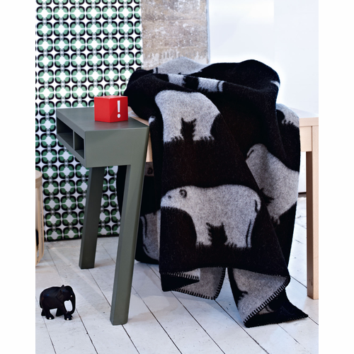 Isbjorn (Polar Bear) Wool Blanket