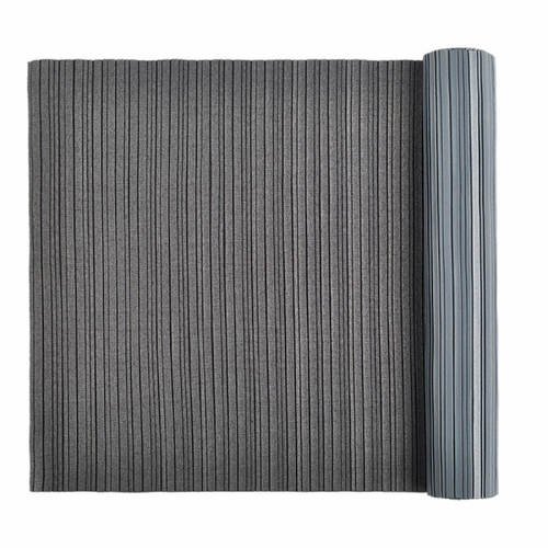 IXI Interior textile Pleated, Random Dark Grey