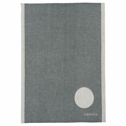 "Jonte Kitchen Towel - Charcoal, 18"" x 26"""