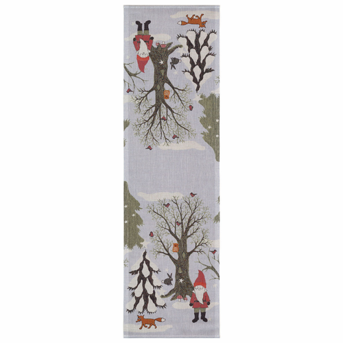Julpromenad Table Runner, 14 x 47 inches