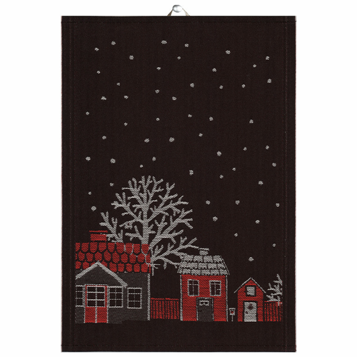 Julstad 90 Tea Towel, Small
