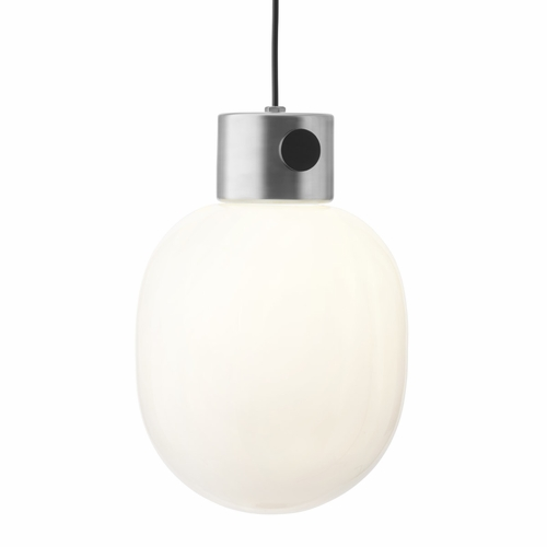 JWDA Metallic Pendant, Brushed Steel