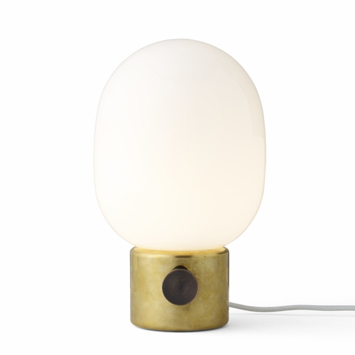 JWDA Metallic Table Lamp, Mirror Polished Brass