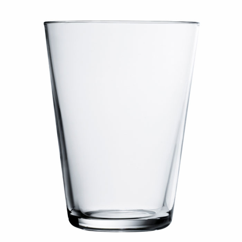 Kartio Tumbler (13.5 oz) Clear, Set of 2