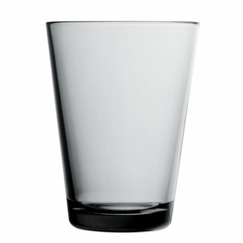Kartio Tumblers, set of 2 (13.5 oz), gray