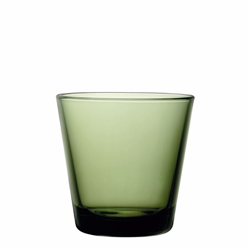 Iittala Kartio Tumblers (7 oz)  Moss Green, Set of 2