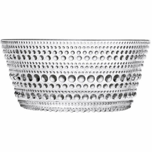 Iittala Kastehelmi Dewdrop Bowl Set of 6, Clear