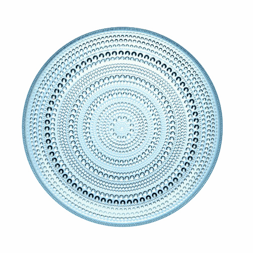 Kastehelmi Dewdrop Plate, light blue