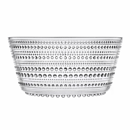 Iittala Kastehelmi Serving Bowl, Clear