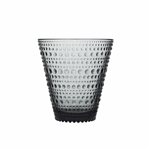 Iittala Kastehelmi Tumbler (10 oz) Gray, Set of 2