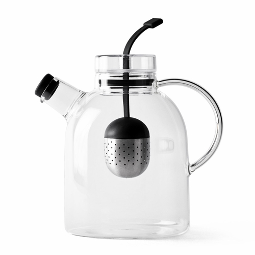 Kettle Teapot, Glass, Large