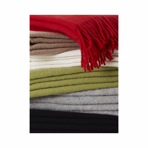 "Klippan Merino Wool Throw - 6 Colors - 51"" X 70"""