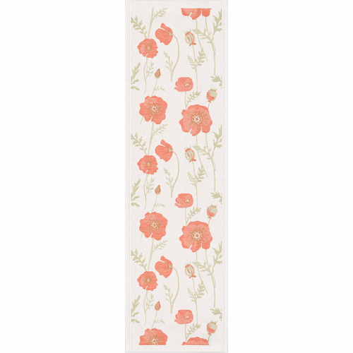 Kornvallmo Table Runner, 14 x 47 inches