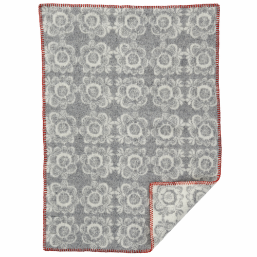 Kurbits Baby ECO Wool Blanket, Light Grey