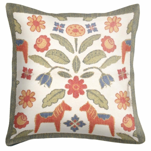Ekelund Weavers Kurbitsblom Cushion Cover