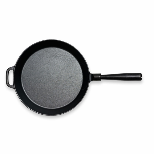 "Le Gourmet Frying Pan with Iron Handle   (11"" - 28 cm)"