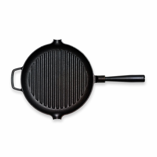 "Le Gourmet Grill Pan with Iron Handle (11"" - 28 cm)"