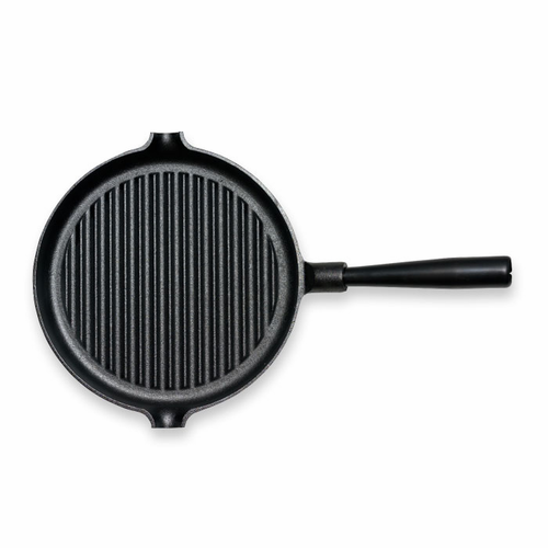"Le Gourmet Grill Pan with Iron Handle (9.8"" - 25 cm)"