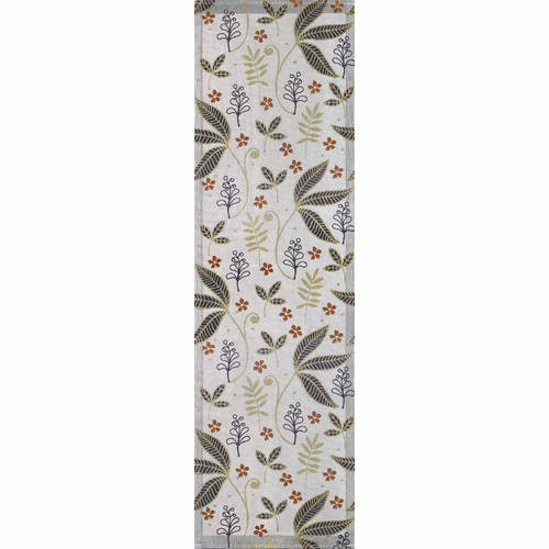 Leaf Table Runner, 14 x 47 inches
