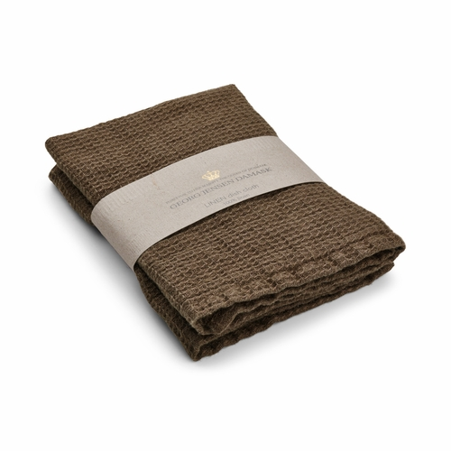 Linen Dishcloth, Walnut - Set of 2 (Only 1 Left)