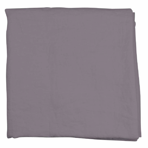 Linn Linen Table Cloth, Lead Grey 57 x 98 inches