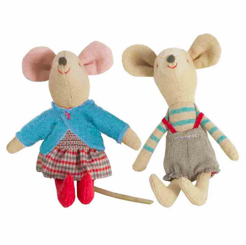 Little Danish Sister & Brother Mouse - Set of 2 - SOLD OUT