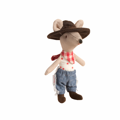 Maileg Danish Cowboy Mouse Toy