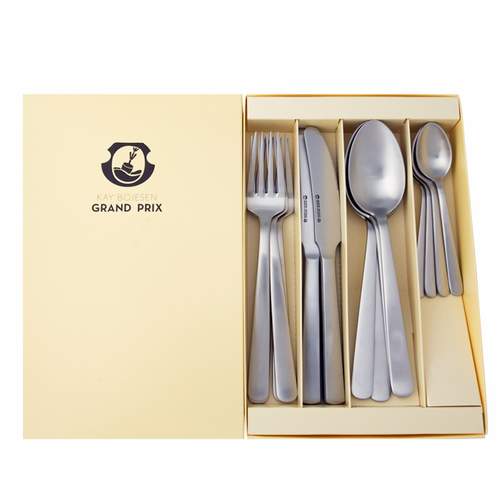 Kay Bojesen Grand Prix Matte 16-Piece Flatware Set