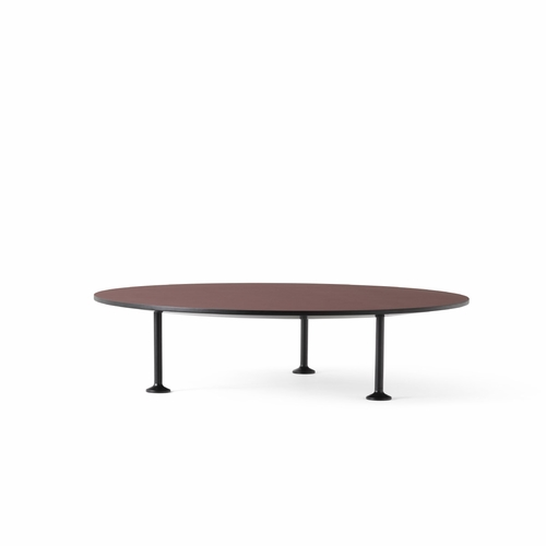 Menu Godot Coffee Table, Burgundy, 35""