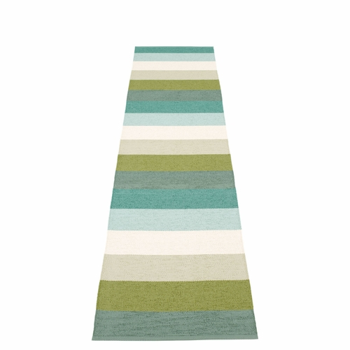 Molly Plastic Rug - Forest, 2 1/4' x 13 1/4'