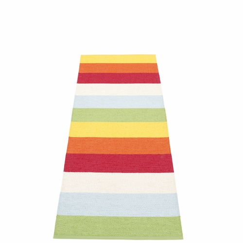 Molly Plastic Rug - Multi, 2 1/4' x 6 1/2'
