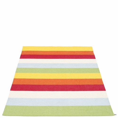 "Molly Plastic Rug - Multi, 54"" x 87"""