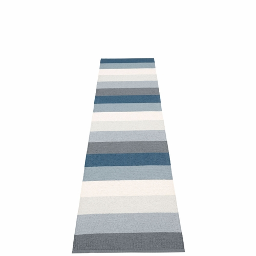 Molly Plastic Rug - Ocean Grey, 2 1/4' x 9 3/4'