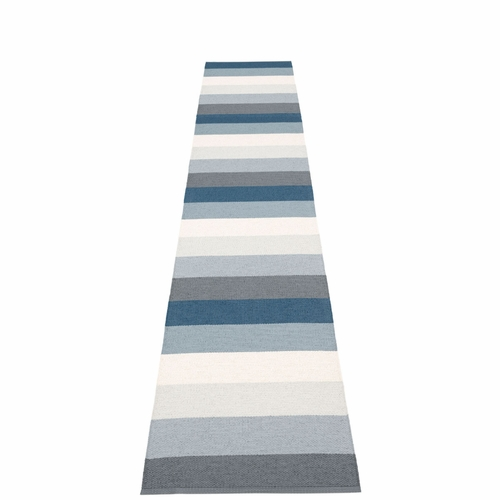 Molly Plastic Rug - Ocean Grey, 2 1/4' x 13 1/4'