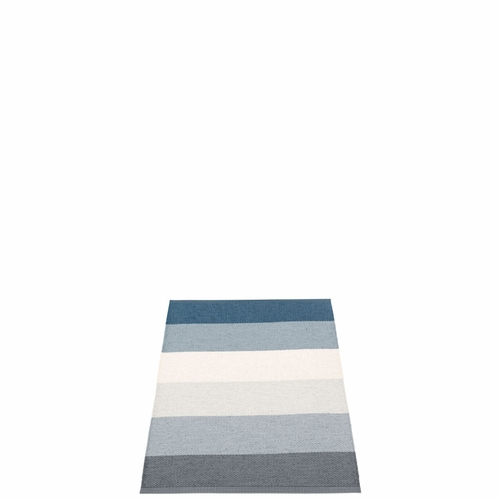 Molly Plastic Rug - Ocean Grey, 2 1/4' x 3 1/4'