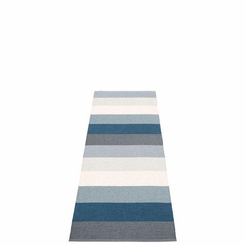 Molly Plastic Rug - Ocean Grey, 2 1/4' x 6 1/2'