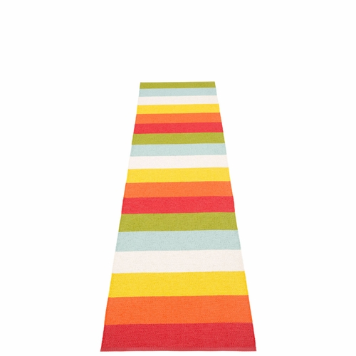 Molly Plastic Rug - Rainbow, 2 1/4' x 9 3/4'