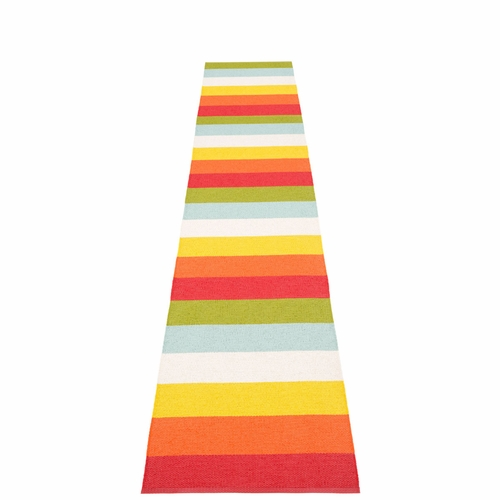 Molly Plastic Rug - Rainbow, 2 1/4' x 13 1/4'
