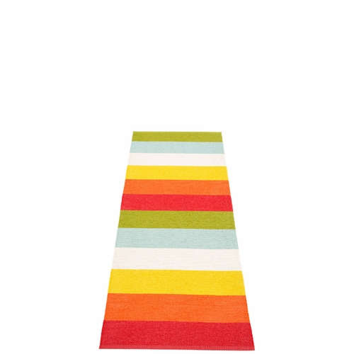 Molly Plastic Rug - Rainbow, 2 1/4' x 6 1/2'