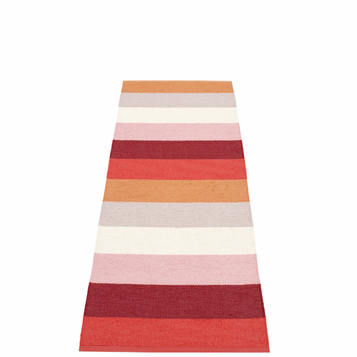Molly Plastic Rug - Sunset, 2 1/4' x 6 1/2'