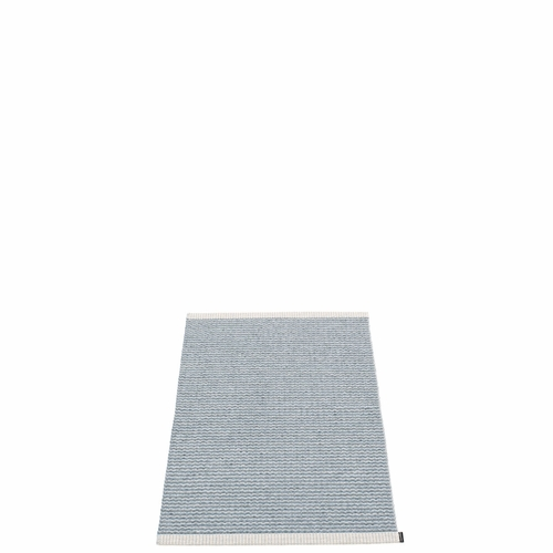 "Mono Plastic Rug - Storm/Light Grey, 24"" x 33"""