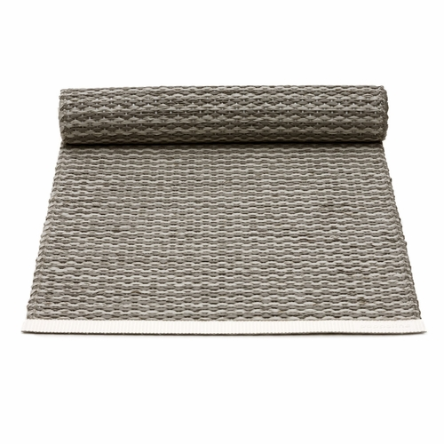 Mono Plastic Table Runner - Charcoal