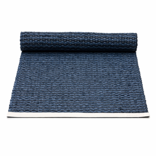 Mono Plastic Table Runner - Dark Blue