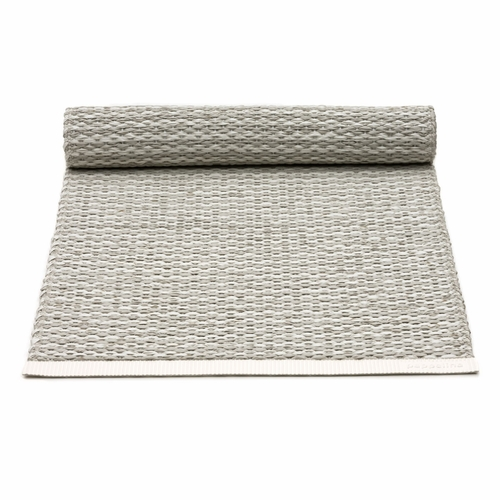 Mono Plastic Table Runner - Fossil Grey