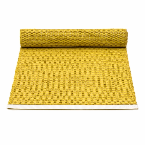 Mono Plastic Table Runner - Mustard