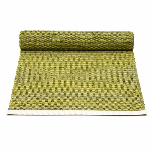 Pappelina Mono Plastic Table Runner - Olive