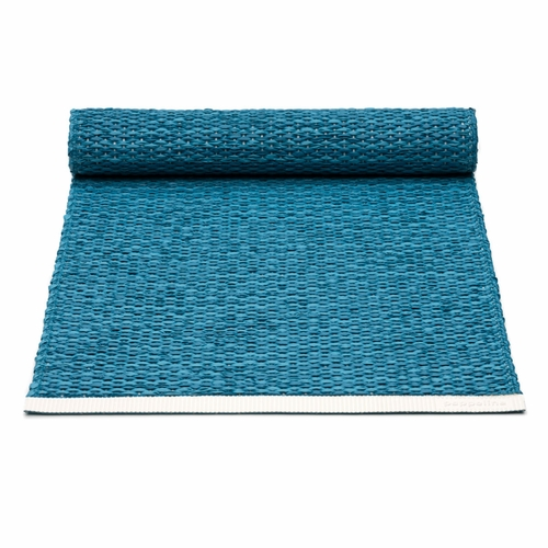 Pappelina Mono Plastic Table Runner - Petrol