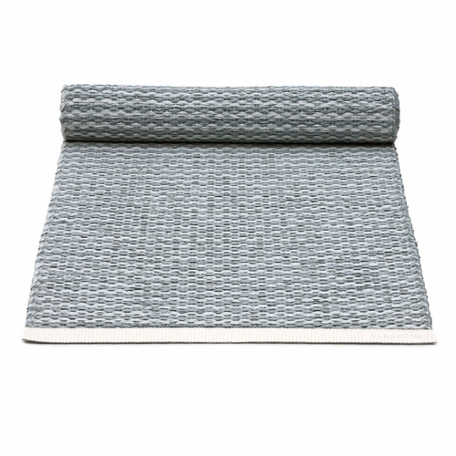 Pappelina Mono Plastic Table Runner - Storm