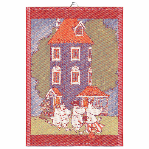 Moomin House Tea Towel, 14 x 20 inches
